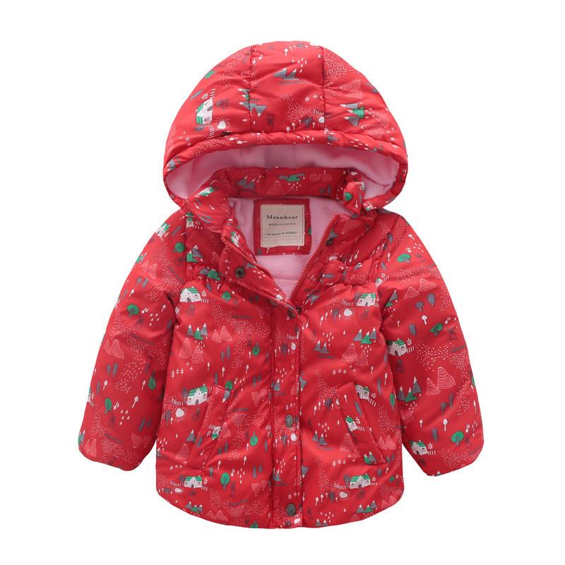 Куртка для девочки Дом Meanbear