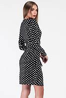 Donna-M Платье КР-10176-8, (Черный) Платье КР-10176-8, фото 1