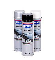Автоэмали PRESTO 500 мл (белая, чёрная, серебристая), фото 1