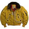 Куртка аляска лётная куртка ALPHA INDUSTRIES B-15
