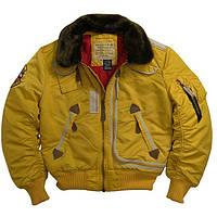 Куртка аляска лётная куртка ALPHA INDUSTRIES B-15, фото 1
