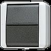 Выключатель одноклавишный 10 AX / 250 B ~ 806W