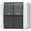 Балансирный вимикач для жалюзі 10 АХ / 250 В ~ 809VW