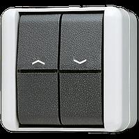Балансирный выключатель для жалюзи 10 АХ / 250 В ~ 809VW