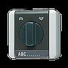 Поворотный выключатель / кнопка для жалюзи 10 АХ / 250 В ~ 834.10W