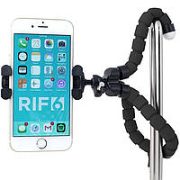 Универсальный штатив с гибкими ножками для телефона смартфона GoPro черный Осьминог трипод селфи палка тренога