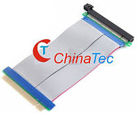 Райзер PCI-E 16X шлейф-удлинитель для видеокарты, фото 1