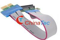 Райзер PCI-E 1X шлейф-удлинитель