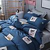 Комплект постельного белья Улыбка пса (двуспальный-евро) Berni, фото 4