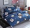 Комплект постельного белья Улыбка пса (двуспальный-евро) Berni, фото 5
