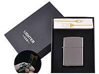 Подарочная зажигалка USB HL-6, фото 1