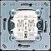 2-х клавишный механизм кнопок без фиксации 10 A / 250 В ~ 535U