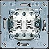 2-х клавишный механизм кнопок без фиксации 10 A / 250 В ~ 539U