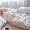 Комплект постельного белья Фламинго с горошком (полуторный) Berni, фото 2