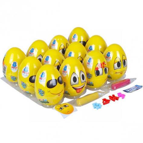 Игровое тесто «Play-Toys» яйцо 2×20 г. 5108, фото 2