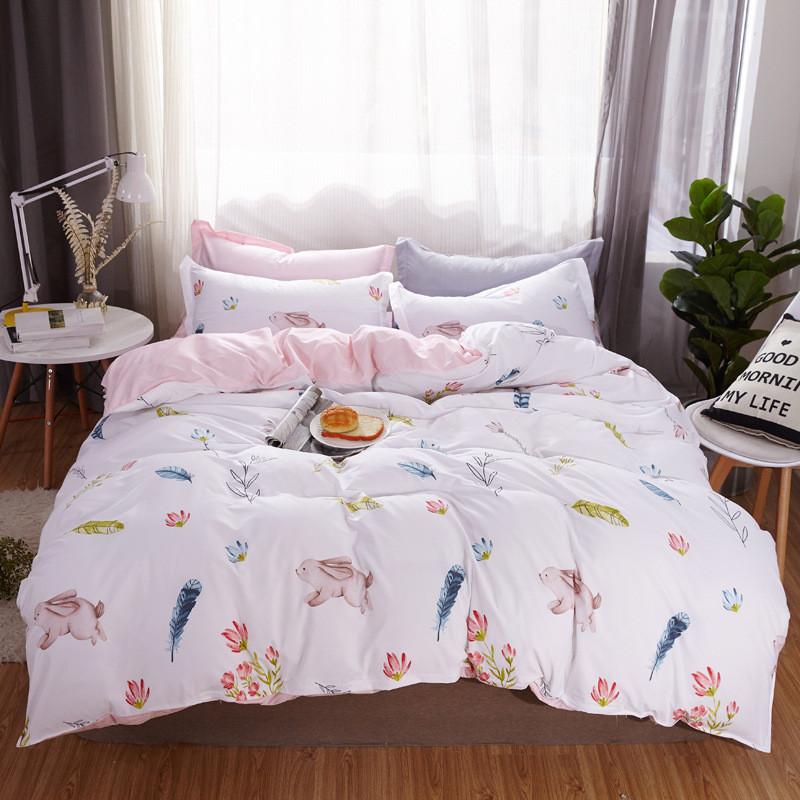 Комплект постельного белья Зайчонок (двуспальный-евро) Berni