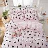 Комплект постельного белья Кошка (двуспальный-евро) Berni, фото 8