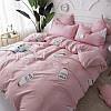 Комплект постельного белья Молоко (двуспальный-евро) Berni, фото 6