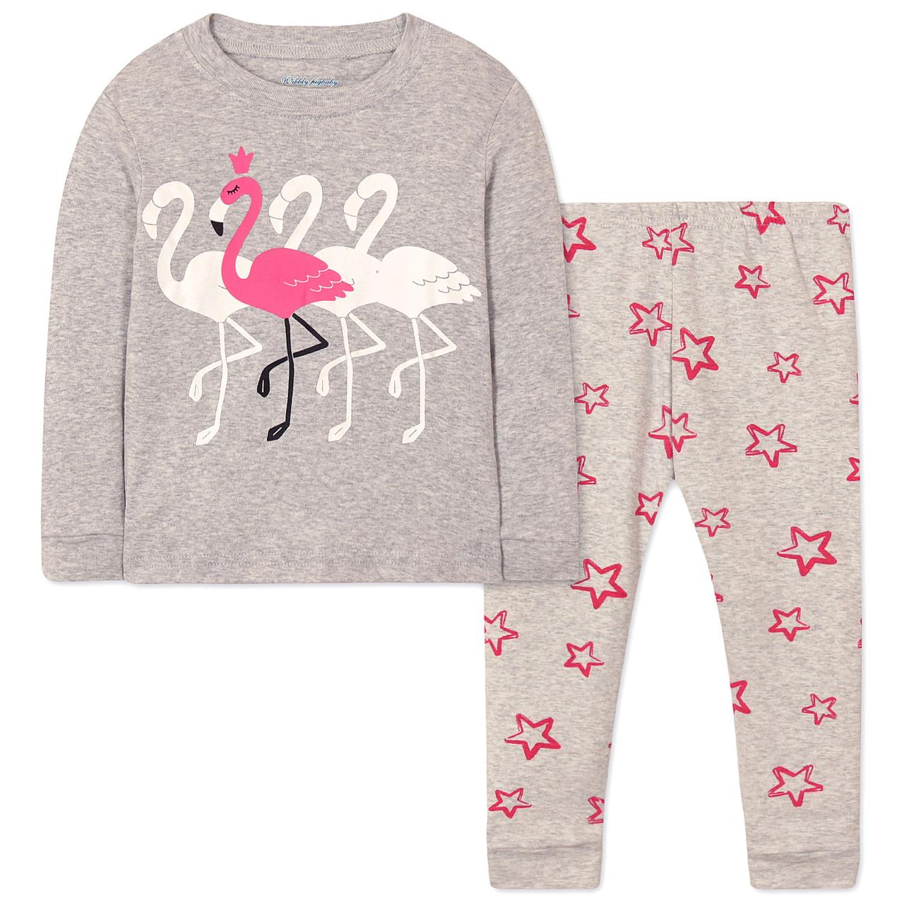 Пижама Фламинго Wibbly pigbaby