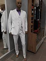 """Костюм мужской тройка """"West-Fashion"""" модель А-693 белый"""