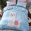 Комплект постельного белья Лама (двуспальный-евро) Berni, фото 2
