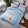 Комплект постельного белья Лама (двуспальный-евро) Berni, фото 8