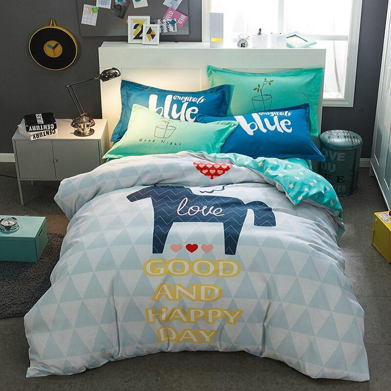 Комплект постельного белья Хороший день (двуспальный-евро) Berni