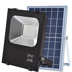LED прожектори на сонячних батареях
