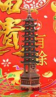 Девятиярусная Пагода Фен-Шуй, в медном цвете (h=22 см.)