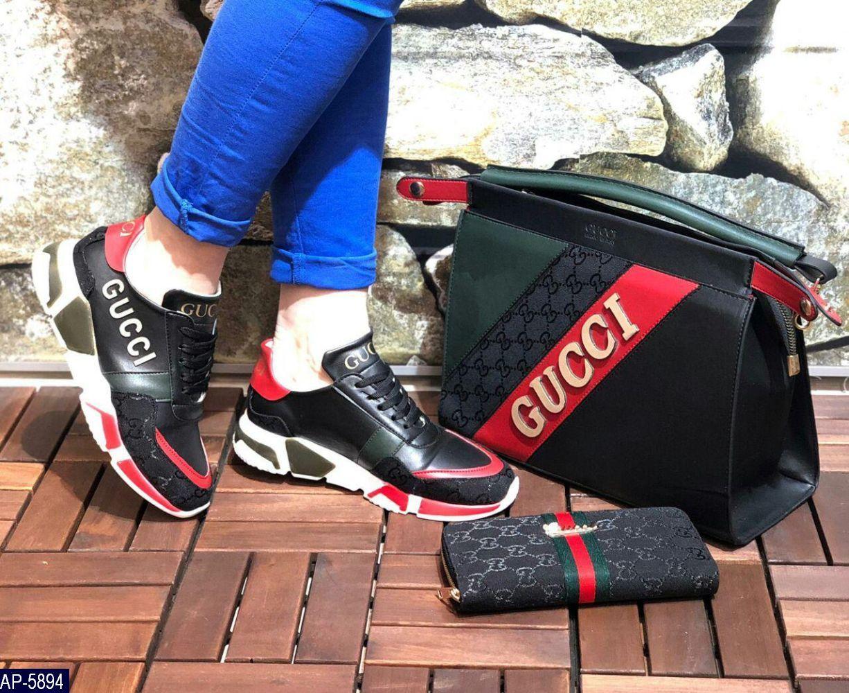 Кошелек Женский Gucci Турция Эко-кожа Высокое качество под заказ 5-10 дней