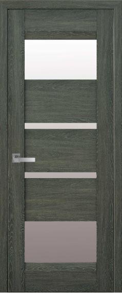 Дверь межкомнатная со стеклом сатин IBIZA