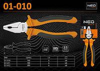 Плоскогубцы универсальные L-160мм.,  NEO  01-010, фото 1