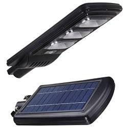 Уличные консольные LED светильники на солнечных батареях