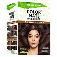 Натуральная краска для волос COLOR MATE Hair Color коричневый (9.2) 15 г.