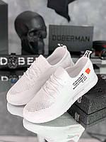 Кроссовки мужские Off-white D6303 белые, фото 1