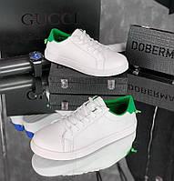 Кроссовки мужские Bucceme D5976 белые, фото 1