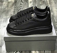 Кроссовки мужские Alexander McQueen Oversized D6050 черные