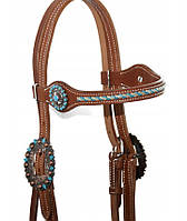 Вуздечка для коня WESTERN USA, фото 1