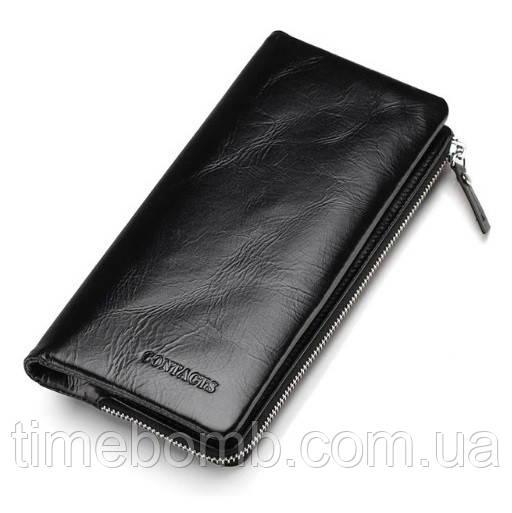 89d2d1abbf49 Классический мужской кошелек Contacts из натуральной кожи: продажа ...