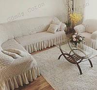 """Чехол на угловой диван и кресло """"Venera"""" (цветовая гамма в наличии)"""