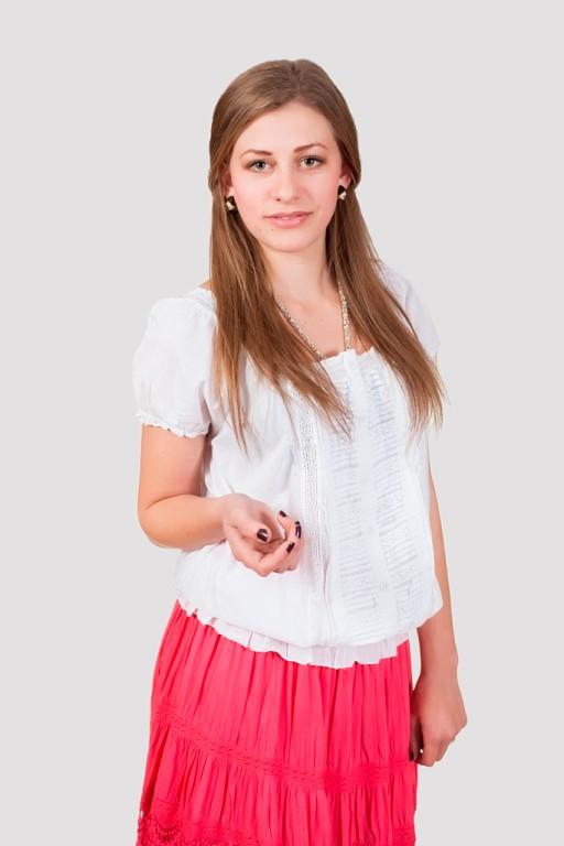 Хлопковая летняя блуза