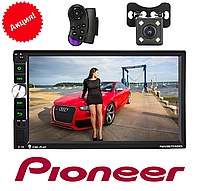 Автомагнитола 2Din Pioneer 7040CRB Камера заднего вида в подарок