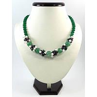 """Эксклюзивное ожерелье """"Нимфа"""", Изысканное ожерелье из натурального камня, Украшения из натурального камня"""