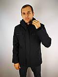 Чоловіча весняна куртка класика, фото 4