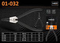 Съемник внешних стопорных колец 90°, 135мм., NEO 01-032