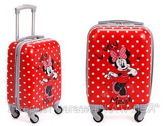 Чемодан дорожный для девочки Minnie Mouse 46 см\28 л