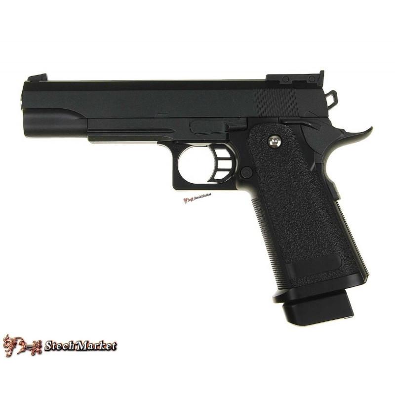 Страйкбольный пистолет Galaxy G6 (Colt M1911) с пульками