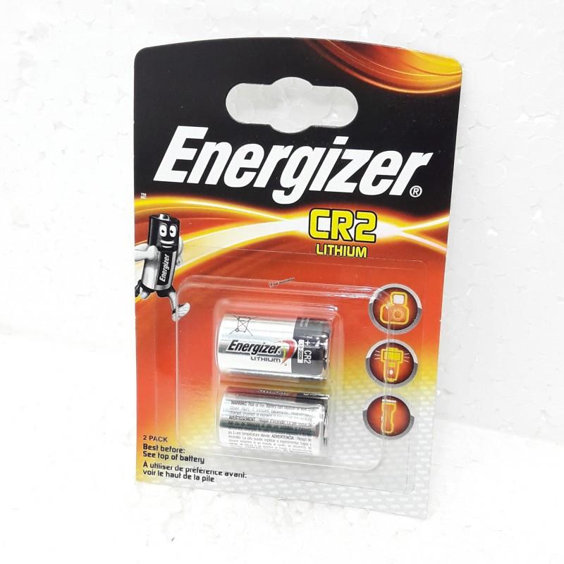 Батарейка литиевая CR2 3V Energizer Lithium 2шт