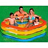 Детский надувной бассейн «Морская звезда», 185 х 180 х 53 см Intex 56495, фото 2