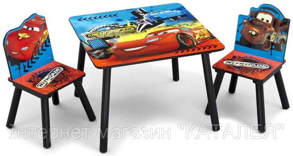 Набор детской мебели CARS (стол + 2 стула)